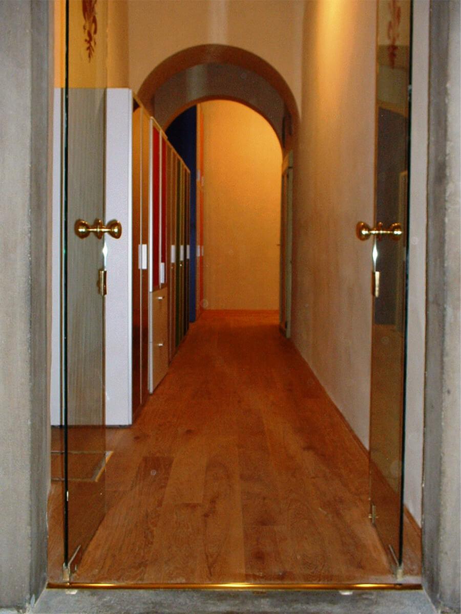 Pavimento ligneo a Palazzo Vecchio