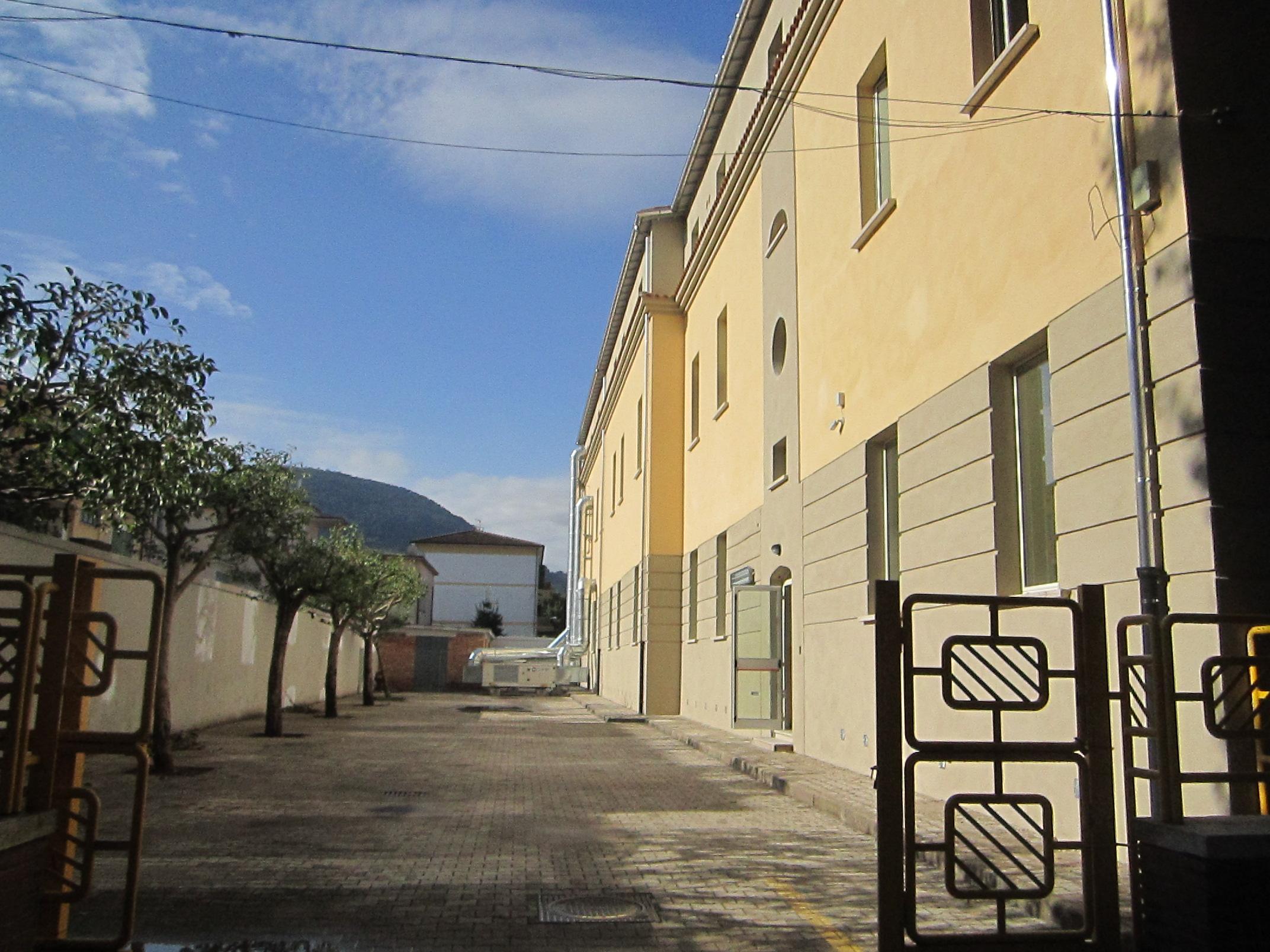 Isolamento termico a cappotto Scuola Sant'Agata dei Goti (BN)